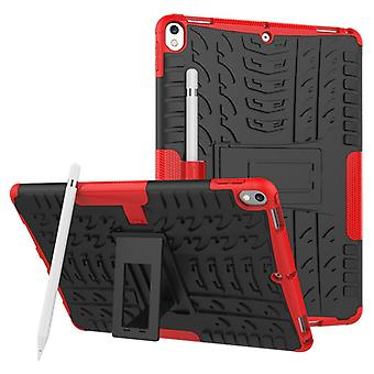 Hybrid outdoor protective cover case red for Apple iPad Pro 10.5 2017 bag