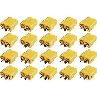 بكرة 1399713 وعاء البطارية XT60 الذهب مطلي 20 جهاز كمبيوتر (أجهزة)
