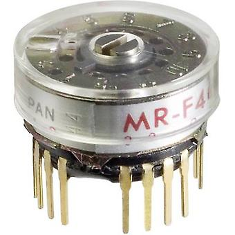 NKK Switches MRF206 Rotary switch 125 V AC 0.25 A Switch postions 6 1 x 30 ° 1 pc(s)