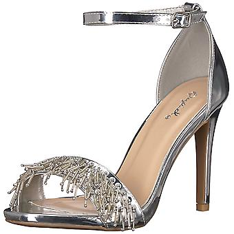 Qupid Womens grammy Open Toe Casual Ankle Strap Sandals