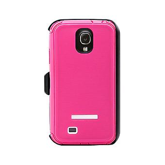 Body Glove ToughSuit Rugged Series Case for Samsung Galaxy S4 (Raspberry/White) - 9346502