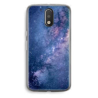 Motorola Moto G4/G4 Plus Transparent fodral (Soft) - nebulosan
