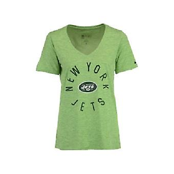 New York Jets NFL Nike Dri-Fit Touch kvinnors Tee