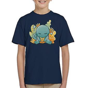 Pokemon nukkuminen Squirtle Lasten t-paita