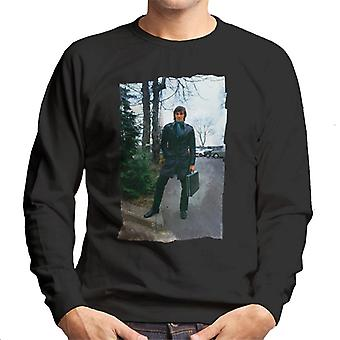 TV Times George Best Leather Duster Men's Sweatshirt