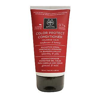 Apivita kleur beschermen Conditioner met zonnebloem & honing 4,85 OZ