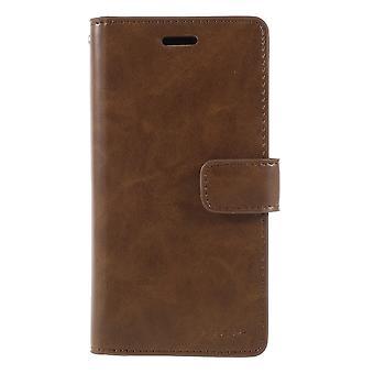 iPhone X/ XS Mercury Goospery Mansoor Wallet Case - Brown