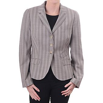 Paul Smith Vintage Womens 3 Butt Jkt With Pinstripe