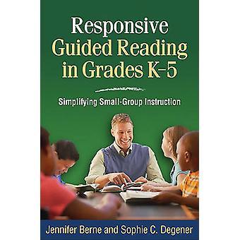 Lyhörd guidad läsning i årskurserna k-5-förenkla liten grupp Inst