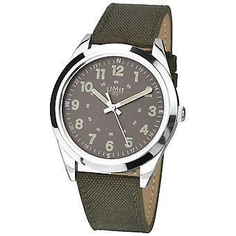 Limit Gents | Military Style |Khaki Green Strap & Green Dial 5951 Watch