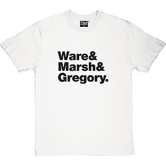 Heaven 17 Line-Up mäns T-Shirt
