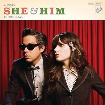 She & Him - Very She & Him Christmas [Vinyl] USA import