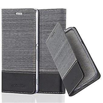 Cadorabo Hülle für Sony Xperia Z3 Case Cover - Handyhülle mit Magnetverschluss, Standfunktion und Kartenfach – Case Cover Schutzhülle Etui Tasche Book Klapp Style