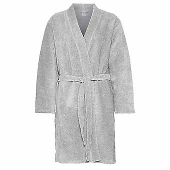 Calvin Klein Women Calvin Klein Women Quilted Robe, Grey, Medium - Large