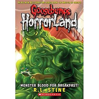 Sangue de monstro para o café da manhã! (Goosebumps: Horrorland