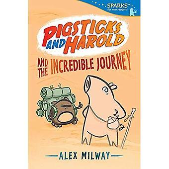 Pigsticks och Harold och otroliga resan (veke gnistor)
