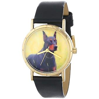 Whimsical Watches unisex wristwatch-P-0130035, leather, color: multicolor