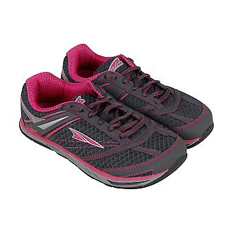 Altra Provisioness  Womens Gray Mesh Low Top Athletic Gym Running Shoes