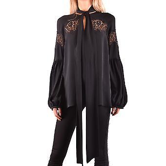 Givenchy Ezbc010019 Women-apos;s Black Silk Blouse