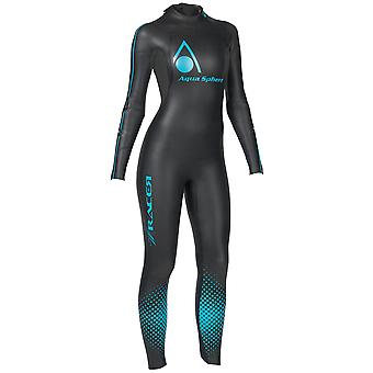 Aqua Sphere Womens/Ladies 2014 Racer Triathlete Professional Powered Wetsuit
