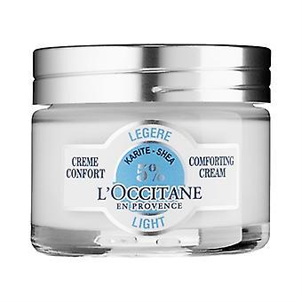 الضوء شيا L'Occitane مطمئنة كريم 1.7 أوقية/50 مل
