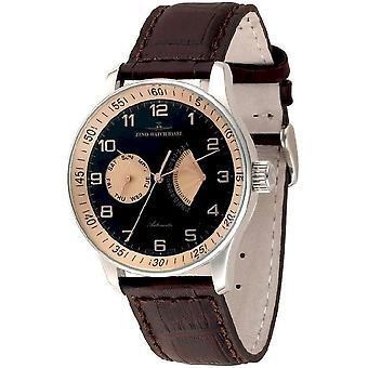 Zeno-Watch miesten katsella X-Large retro Retrogradinen P592-G1-6