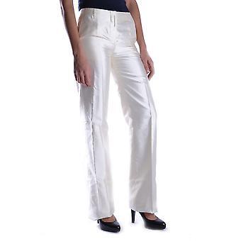 Calvin Klein Ezbc173001 Mujeres's Pantalones de Seda Blanca