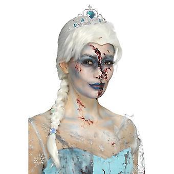 Zombie înghețat la moarte peruca