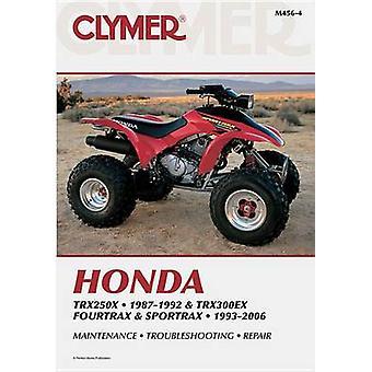 Clymer Honda TRX250X 1987-1992 and TRX300EX Fourtrax and Sportrax 199