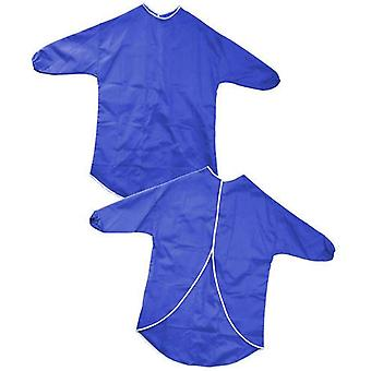 Major Brushes Kid's Art & Craft Protective Play Apron 70cm (Blue)