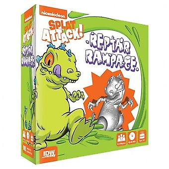 Reptar Rampage Nickelodeon's Splat Attack! Expansion For Board Game