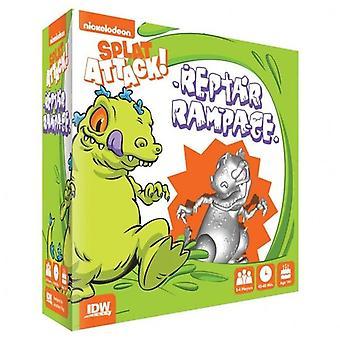 Reptar Rampage de Nickelodeon attaque splat! Extension pour le jeu de société