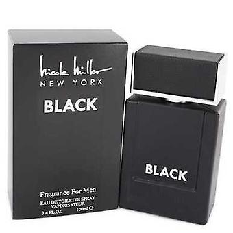 Nicole Miller Black By Nicole Miller Eau De Toilette Spray 3.4 Oz (men) V728-543247