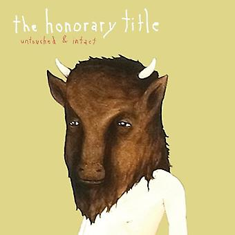 Honorary Title - Untouched & Intact EP [CD] USA import