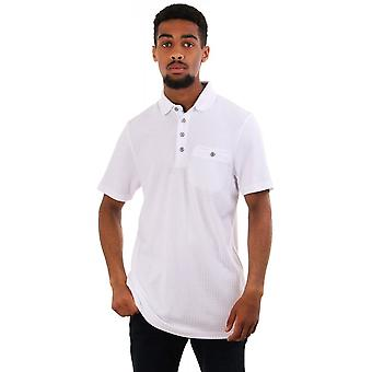 Ted Baker Mens Hughes Textured Ss Polo Top