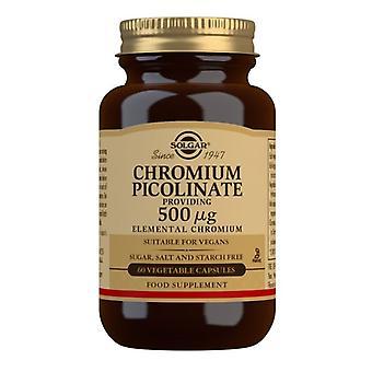 Solgar Chrompicolinate 500ug Vegicaps 60 (871)