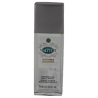 4711 Nouveau Body Spray By Maurer & Wirtz   540807 75 ml