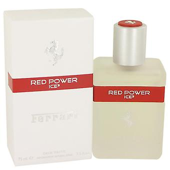 Ferrari punainen teho jää 3 eau de toilette spray Ferrari 535452 75 ml
