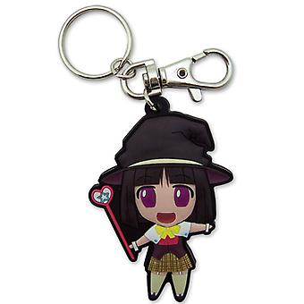 Key Chain - Rosario+Vampire - Yukari Chibi SD PVC New Anime Licensed ge5066