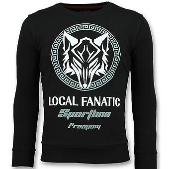 Sportline Wolf - Sweater - 6357Z - Black