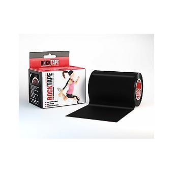 Rocktape Mini Big Daddy Rolls Taśma kinezytologiczna kleju 10cm x 5m - Czarny