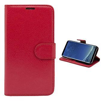 Samsung Galaxy S8 Plus - Läderfodral / Plånbok