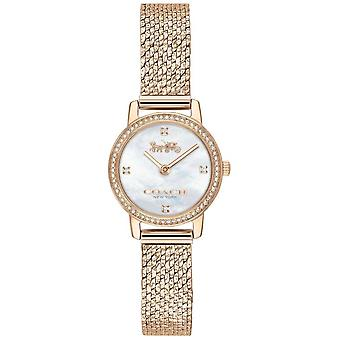 Coach | Womens | Audrey | Rose Gold PVD Mesh | Pearl Dial | 14503372 Watch
