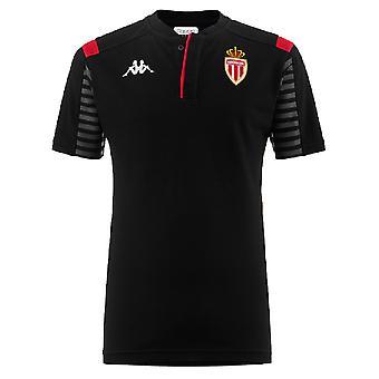 2019-2020 Monaco Polo shirt (zwart)