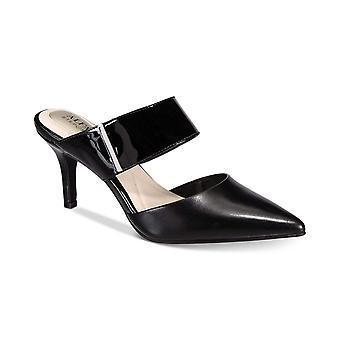 Alfani Womens Jalessia couro apontou Toe casual mula sandálias