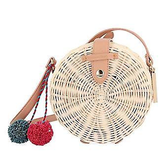 GIOSEPPO 48558 - Women Beige Shoulder Bags (Natural) 8.5x16.5x16.5 cm (W x H L)