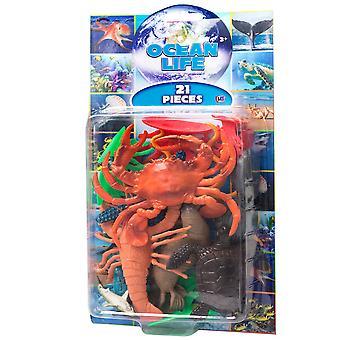 Natural World 21st Sea World Animal Figurines Lekset 5-15cm