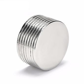 Neodym Magnet 30 x 2 mm Scheibe N35 - 5 Stück