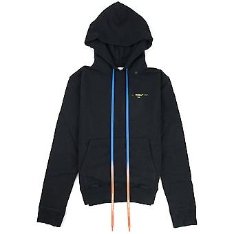 OFF-WHITE Off White Acrylic Arrows Slim Hoodie Black/yellow