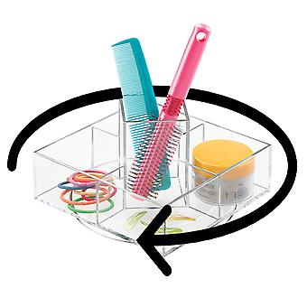 OnDisplay Rotating Acrylic Cosmetic/Makeup Organizer Tray